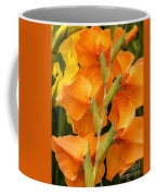 Full Stem Gladiolus Coffee Mug