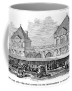 Fulton Fish Market, 1881 Coffee Mug