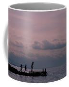Fun At Sunset Coffee Mug
