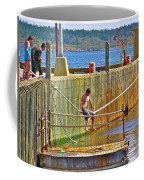 Fun At The Ferry Dock On Brier Island In Digby Neck-ns Coffee Mug