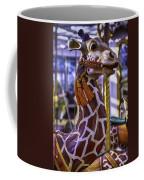 Fun Giraffe Carousel Ride Coffee Mug