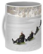 Fun In The Snow Coffee Mug by Susan Candelario