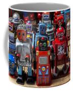 Fun Toy Robots Coffee Mug by Garry Gay