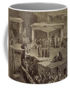 Funeral Ceremony In The Ruins Coffee Mug