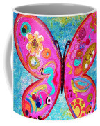 Funky Butterfly Coffee Mug