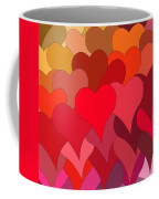 Funky Hearts Coffee Mug
