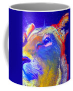 Funky Lioness Jungle Queen Coffee Mug