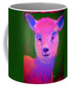 Funky Pinky Lamb Art Print Coffee Mug