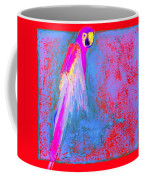 Funky Rainbow Parrot Art Prints Coffee Mug