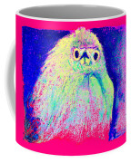 Funky Snowy Egret Bird Art Prints Coffee Mug