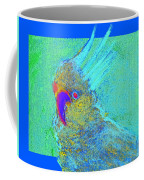 Funky Sulphur Crested Cockatoo Bird Art Prints Coffee Mug