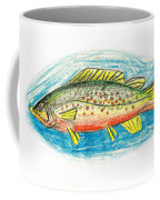 Funky Trout Coffee Mug