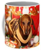 Funny Looking Reindeer Coffee Mug