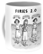 Furies 2.0 -- Ironia Coffee Mug