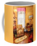 Furniture - Chair - Livingrom Retirement Coffee Mug by Mike Savad