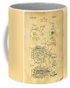 Futuristic Toy Gun Weapon Patent Coffee Mug