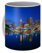 Fx2l530 Columbus Ohio Night Skyline Photo Coffee Mug