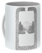 Mountain Walk Border Coffee Mug
