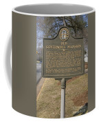 Ga-005-1b Old Governors Mansion Coffee Mug