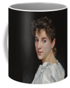 Gabrielle Cot After W. Bougereau Coffee Mug