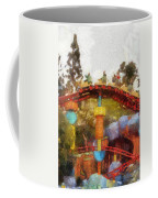 Gadget Go Coaster Disneyland Toontown Photo Art 02 Coffee Mug
