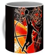 Galactic Dunk Coffee Mug by David G Paul