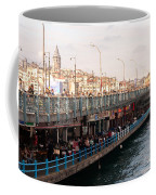 Galata Skyline And Bridge 02 Coffee Mug
