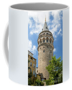 Galata Tower Landmark In Istanbul Turkey Coffee Mug