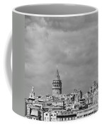 Galata Tower Mono Coffee Mug
