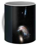 Galaxies Collide  Coffee Mug