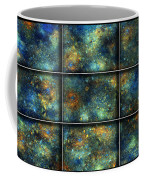Galaxies II Coffee Mug by Betsy Knapp