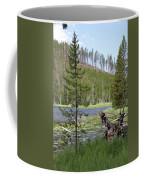 Gallatin River Yellowstone  Coffee Mug
