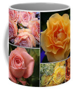 Beautiful Roses- A Collage Coffee Mug