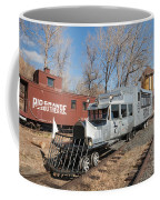 Galloping Goose 7 In The Colorado Railroad Museum Coffee Mug
