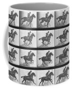 Galloping Horse Coffee Mug by Eadweard Muybridge