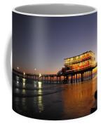 Galveston Fishing Pier 2am-108856 Coffee Mug