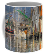 Galveston Shrimp Boats Coffee Mug