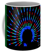 Gama Ray Light Burst Abstract Coffee Mug
