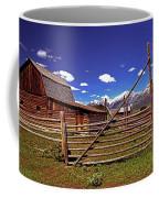 Gambrel Barn And Tetons Coffee Mug