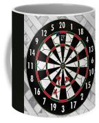 Game Of Darts Anyone? Coffee Mug by Kaye Menner