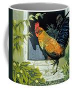 Gamecock And Hen Coffee Mug