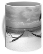 Gangplank Of Perfection Black And White Coffee Mug
