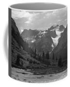 509417-bw-gannett Peak Seen From Dinwoody Creek Coffee Mug