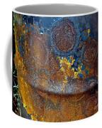 Garbage Can Abstract Coffee Mug