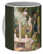 Garden At The Sorolla House Coffee Mug
