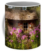Garden - Belvidere Nj - My Little Cottage Coffee Mug by Mike Savad