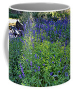 Garden Bench And Sage Coffee Mug