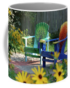 Garden Chairs Coffee Mug