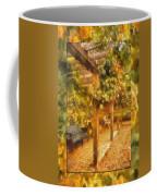 Garden Flowers With Bench Photo Art 02 Coffee Mug