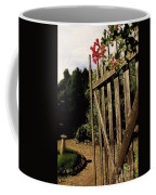 Garden Gate Welcome Coffee Mug